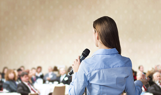 Connecting with the Audience as a New Communicator